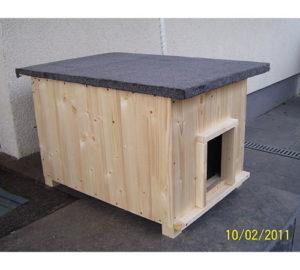 Katzenhaus Lösche Holzbau