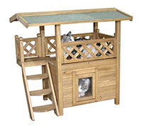 Katzenhaus kaufen Kerbl Lodge