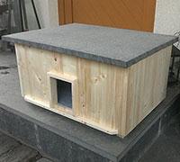 Katzenhaus kaufen Lösche Holzbau