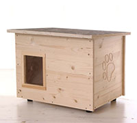 Katzenhaus kaufen Running-Rabbit